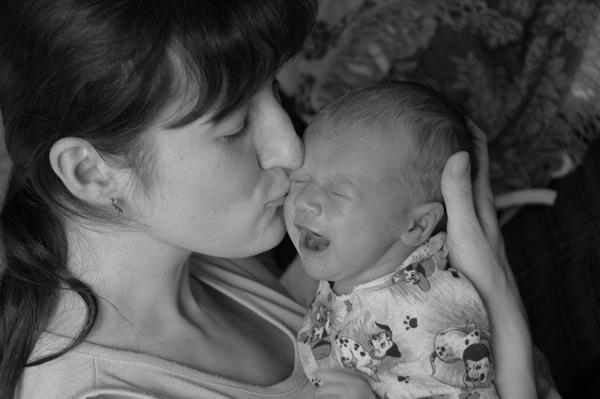 И в горе, и в радости, мы с мамой общаемся.... Слова - не единственный способ общения