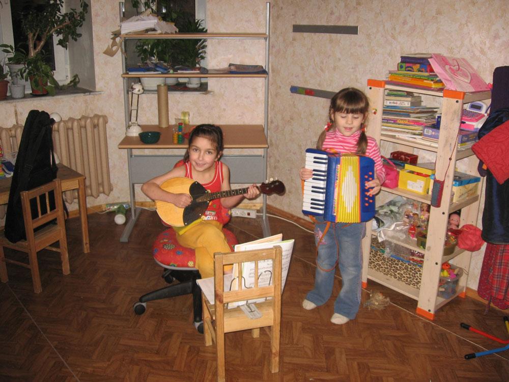 Дуэт:). Дети и музыка