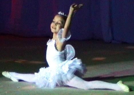 Ляйсян юная балерина. Дети и музыка