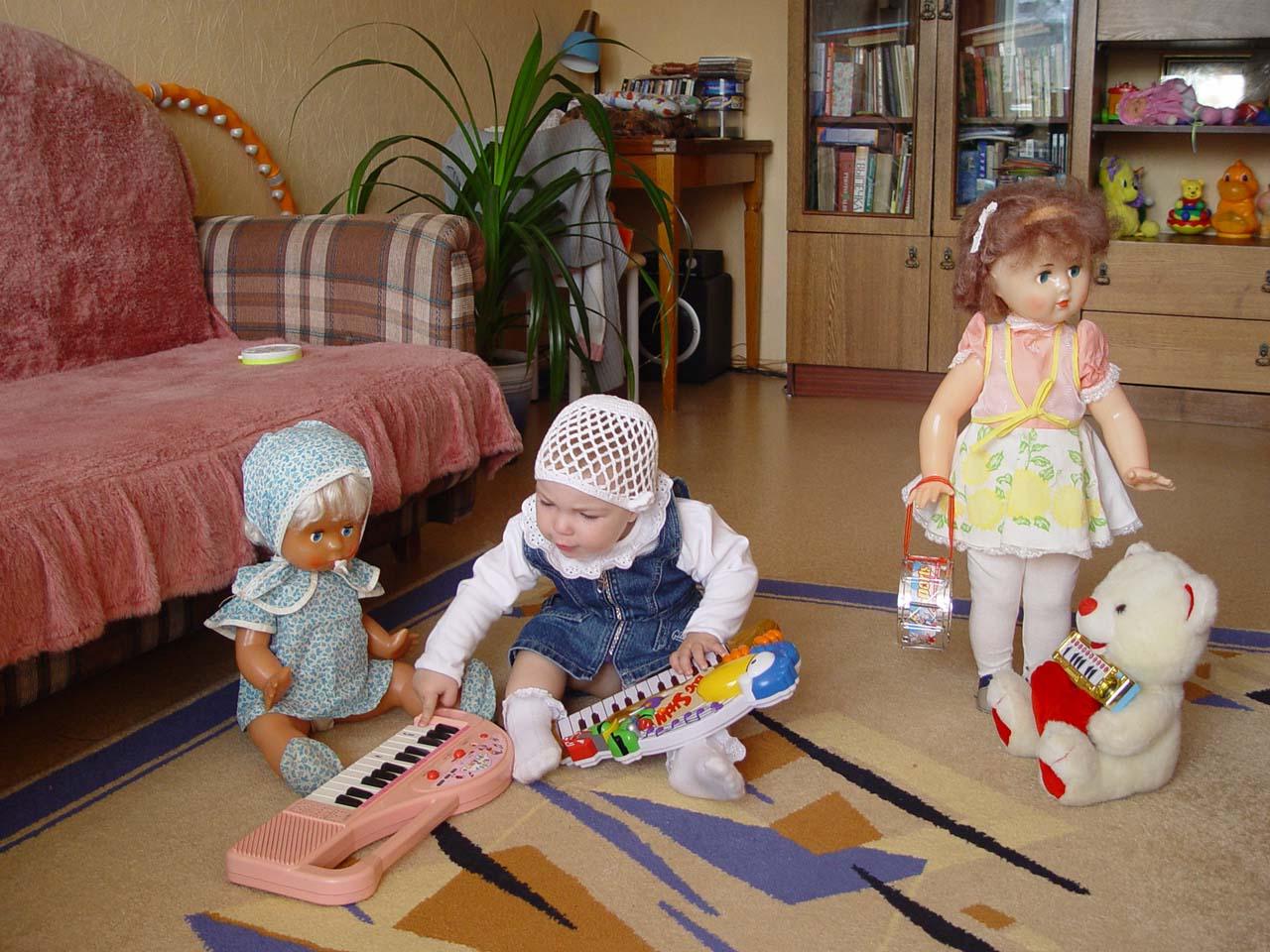 Домашний оркестр. Дети и музыка