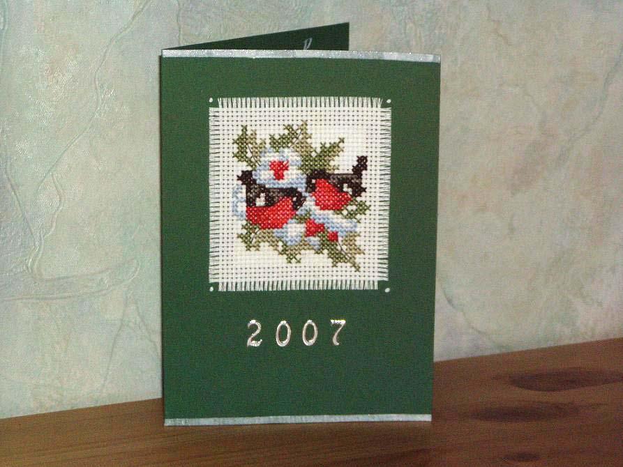 164 - от Tasja для Xotelena. Открыточки к Новому 2007 году
