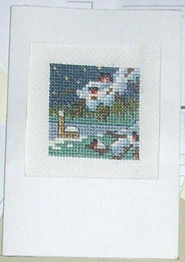 196 - от Fairy для IRI№KA . Открыточки к Новому 2007 году