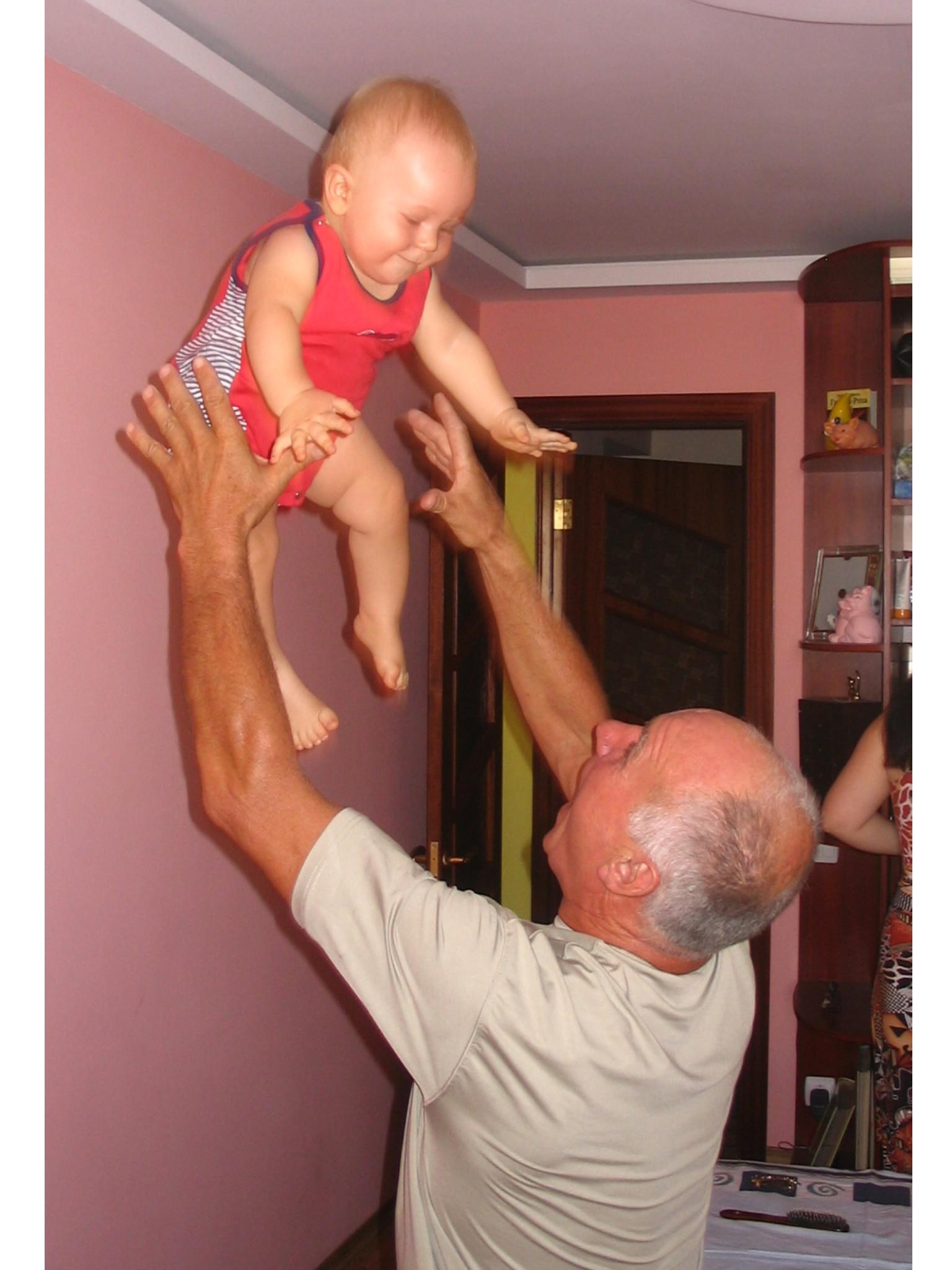 Любимое общение с дедулей. Слова - не единственный способ общения