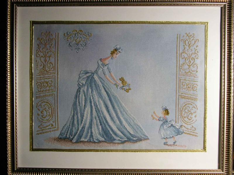 Спокойной ночи в голубом. Рукодельный конкурс 'Женские образы в рукоделии'