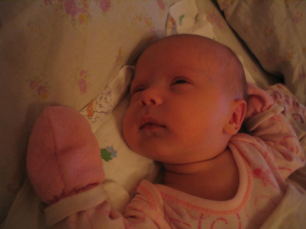 Все... засыпаю... сплю..... Мой малыш перед сном
