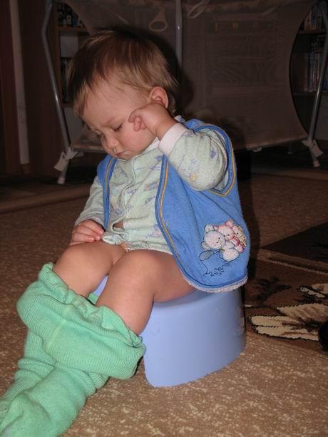 Я и на горшке уснуть могу!. Мой малыш перед сном