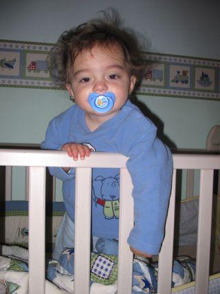 а теперь баиньки.... Мой малыш перед сном