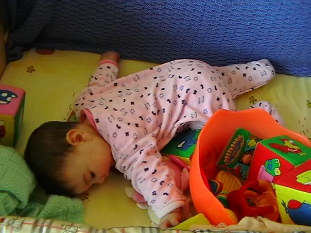 притомилась.... Мой малыш перед сном