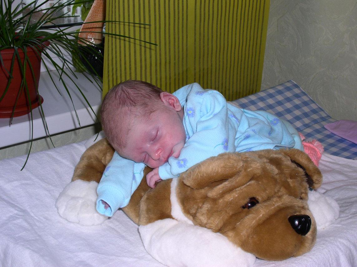 Пока готовились ... заснули. Мой малыш перед сном