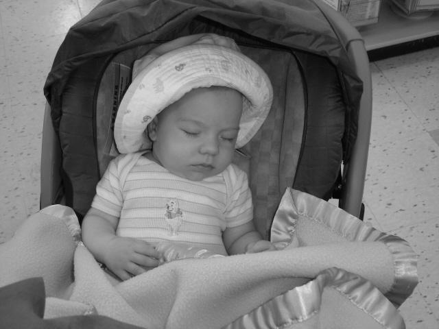Ustal ot shoppinga!. Мой малыш перед сном