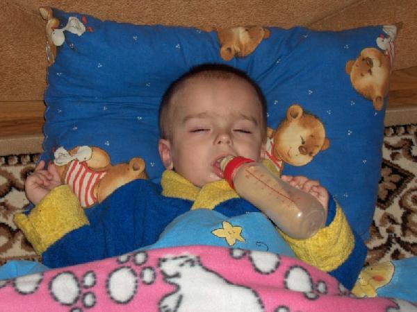 splu sosu i vizu sni. Мой малыш перед сном