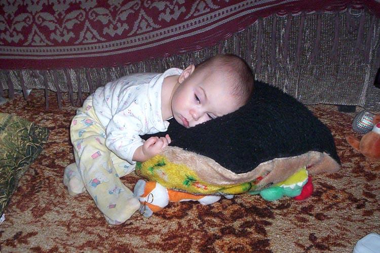 Прилягу только на секундочку.... Мой малыш перед сном