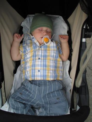 Сон в летний день. Мой малыш перед сном