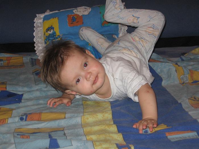 Мария - гимнастка. Мой малыш перед сном
