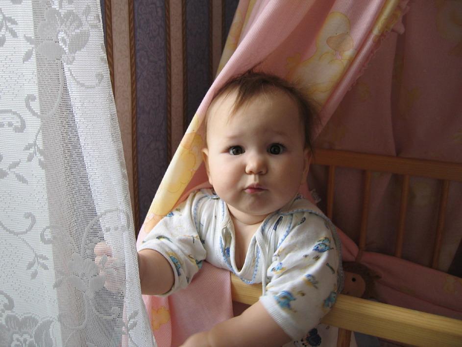 О полуденном сне.... Мой малыш перед сном