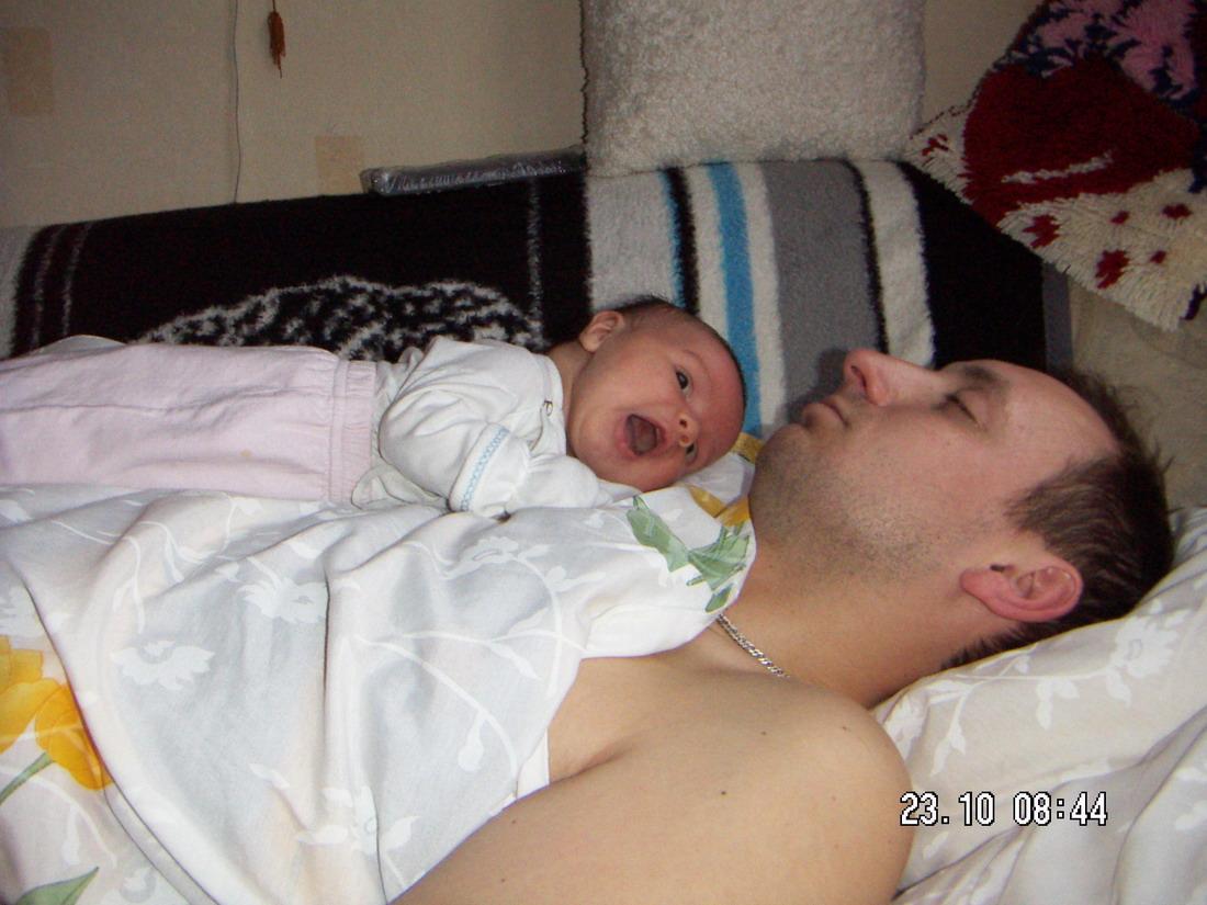 Папа уже спит и я хочу!. Мой малыш перед сном