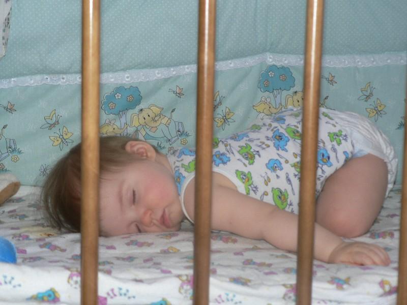 после купания. Мой малыш перед сном