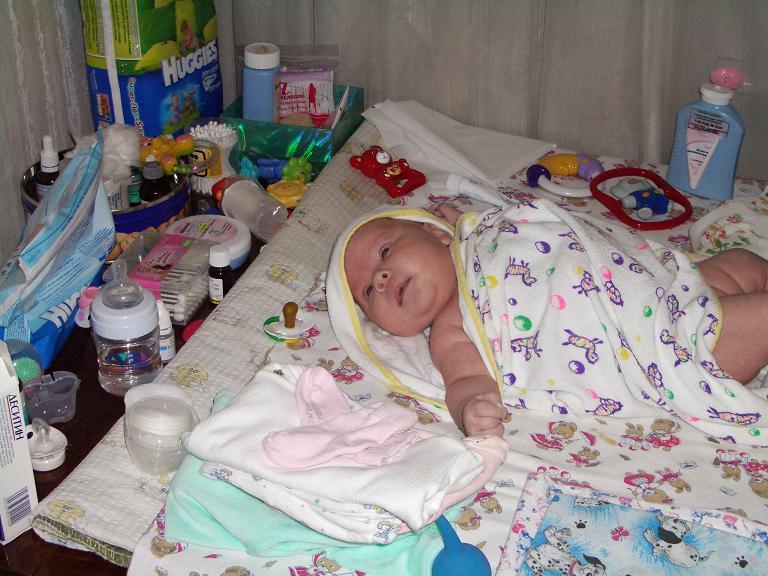 Поедим и баиньки!. Мой малыш перед сном