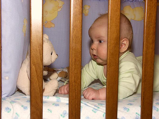 Вечерний разговор с мишкой. Мой малыш перед сном
