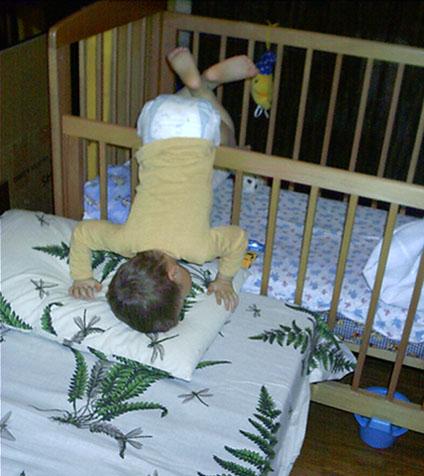 Мамина подушка мягче!. Мой малыш перед сном