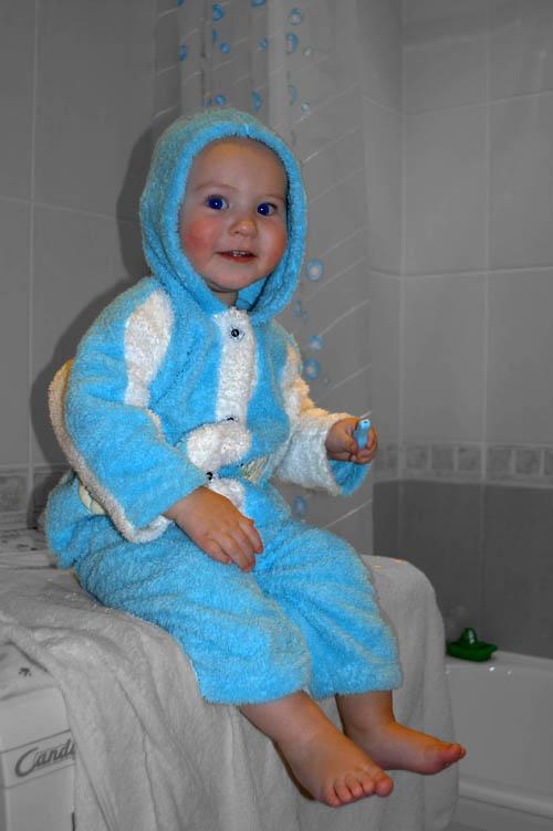 гномик в пижаме. Мой малыш перед сном