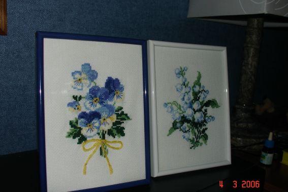 подарки на 8 марта. Вышивальный конкурс 'Я цветочки вышивала...'