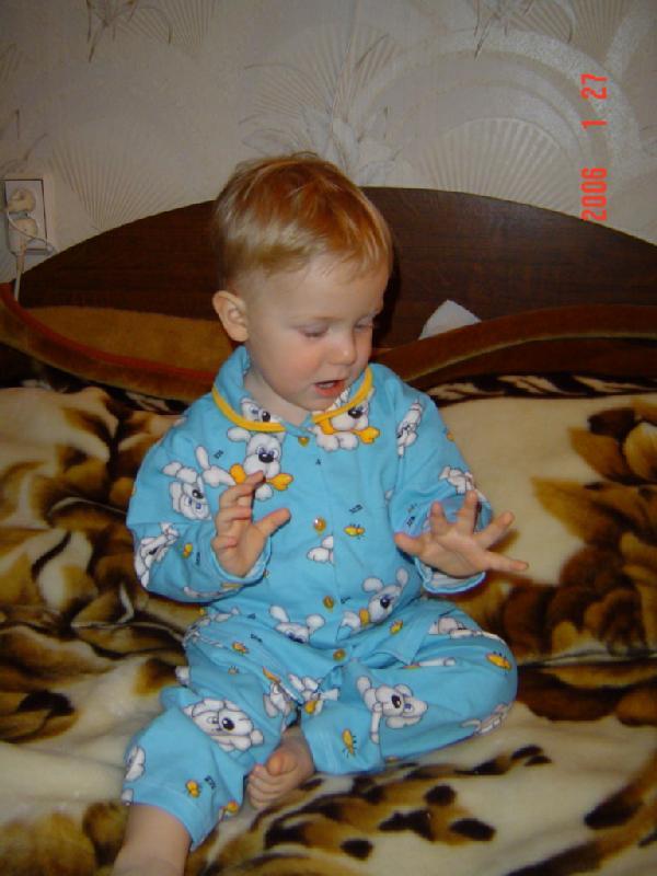 Люблю спать в пижаме.. Мой малыш перед сном