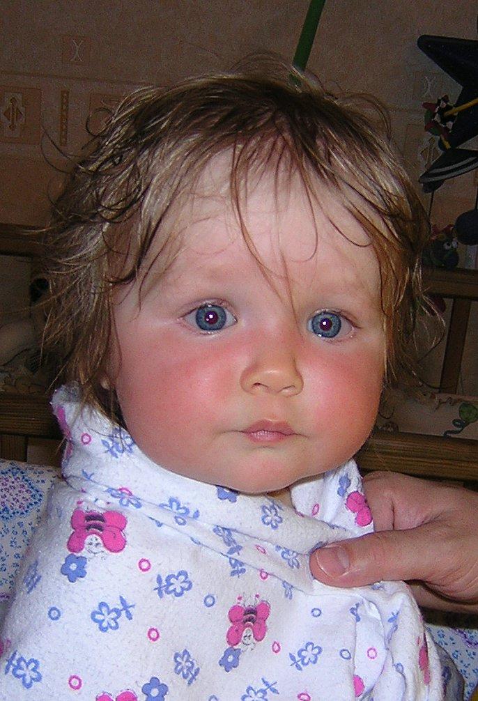Губки бантиком...:))))). Мой малыш перед сном