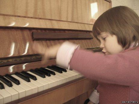 В динамике.... Дети и музыка