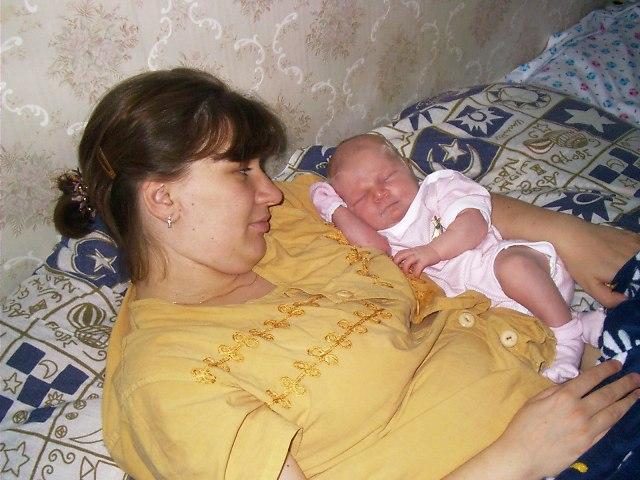 Сладкий сон. Мамочка, я сплю...