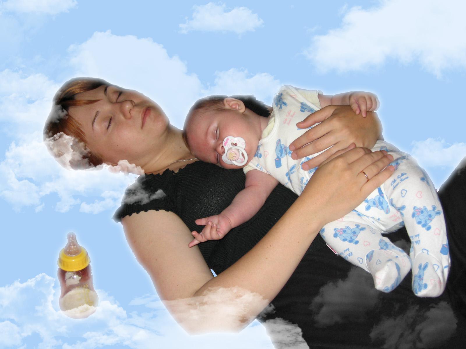 Сладкие сны. Мамочка, я сплю...