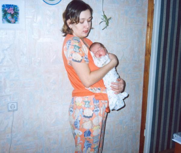 Самые сладкие сны на руках у мамочки!!!. Мамочка, я сплю...