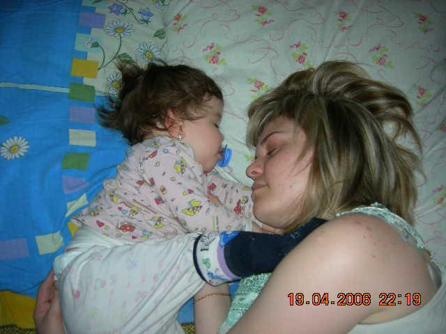 Баю, баюшки баю.... Мамочка, я сплю...