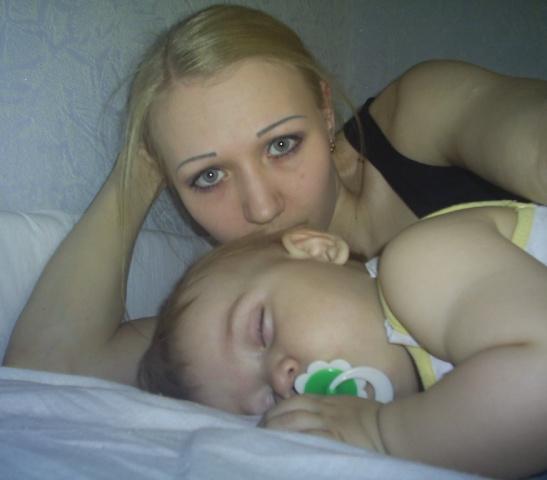 Спи моя Лада усни!.... Мамочка, я сплю...