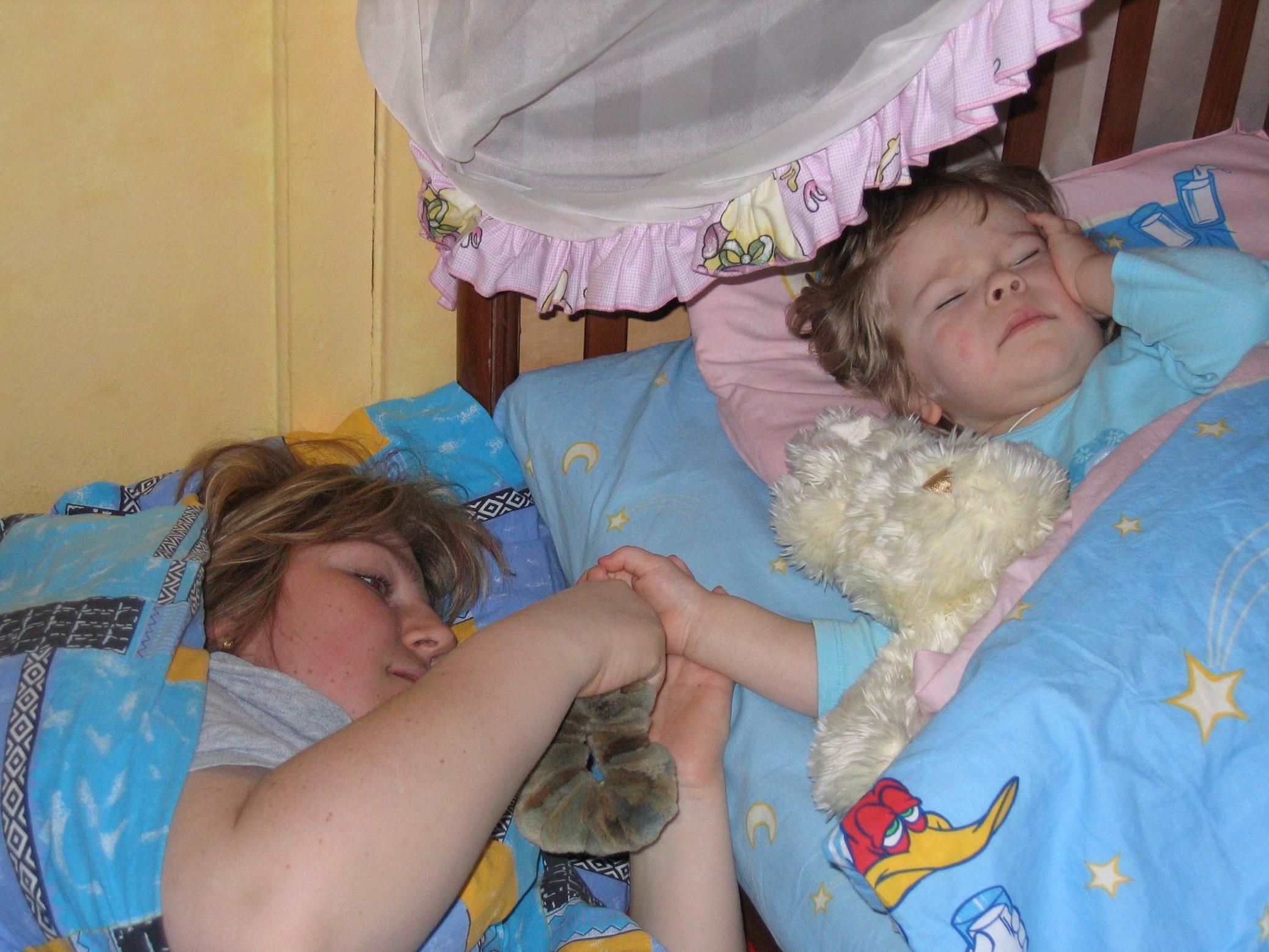 Как сладок сон!:). Мамочка, я сплю...