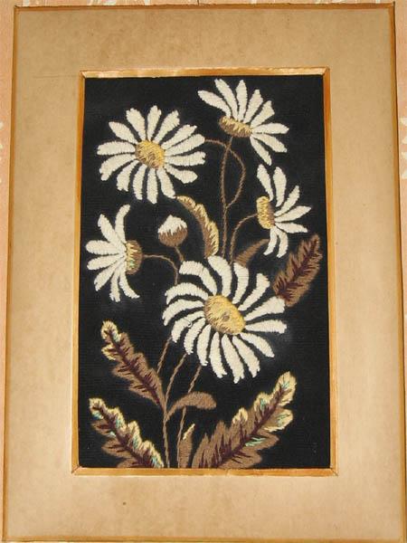 Ах, эти милые цветы!. Вышивальный конкурс 'Я цветочки вышивала...'