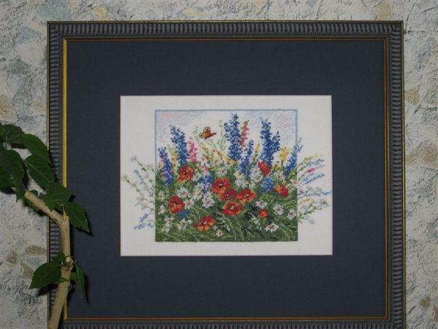 Полевые цветы, Чудесная игла. Вышивальный конкурс 'Я цветочки вышивала...'