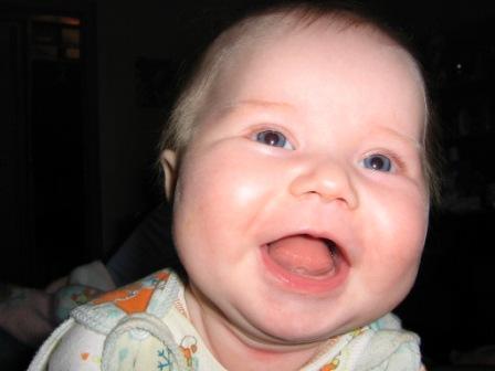 Вот и 6 месяцев нам!!!. Поделись улыбкою своей