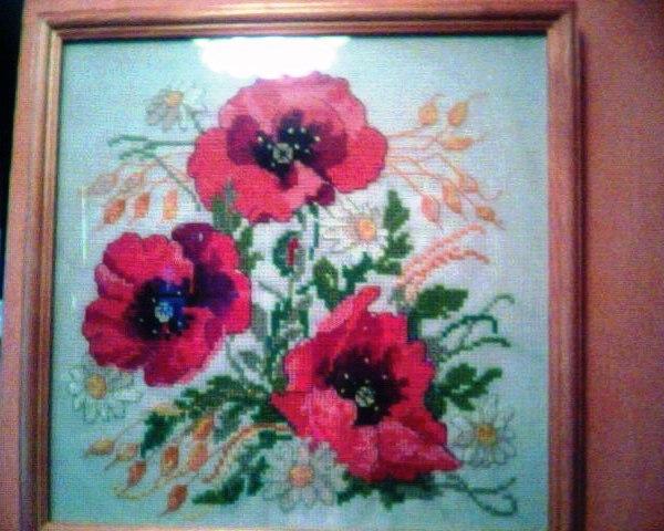 Маков цвет. Вышивальный конкурс 'Я цветочки вышивала...'