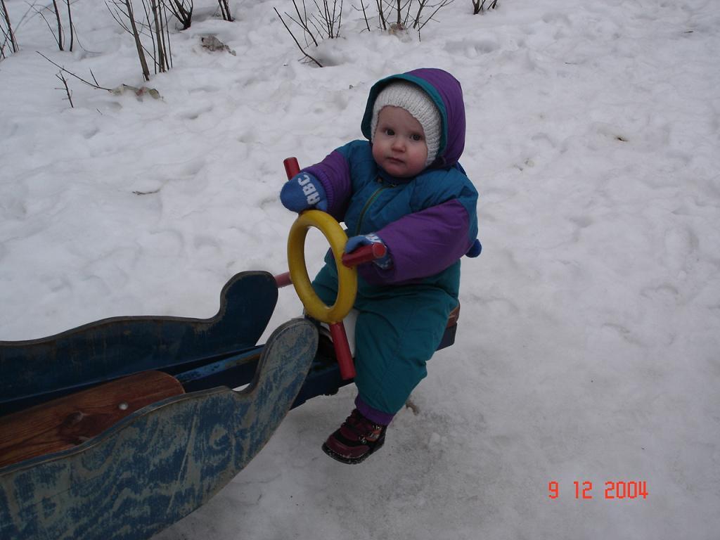 Качаться - дело серьезное. Особенно - зимой.. Это сладкое слово - прогулка!..