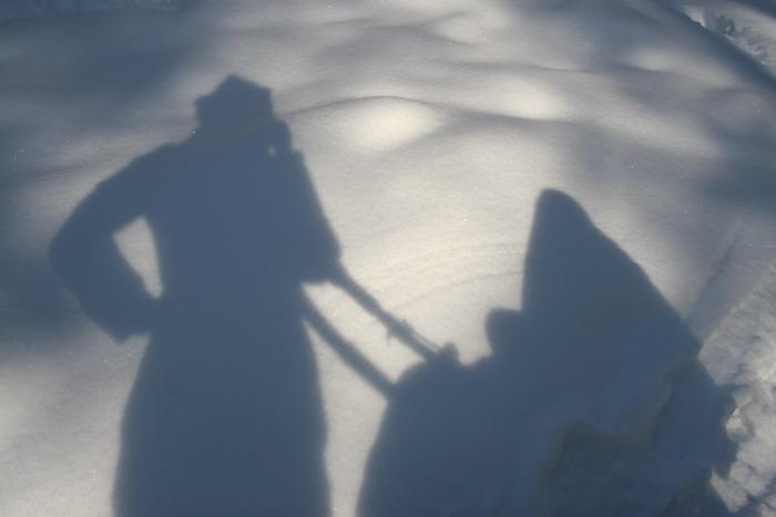Зимняя идилия. Это сладкое слово - прогулка!..
