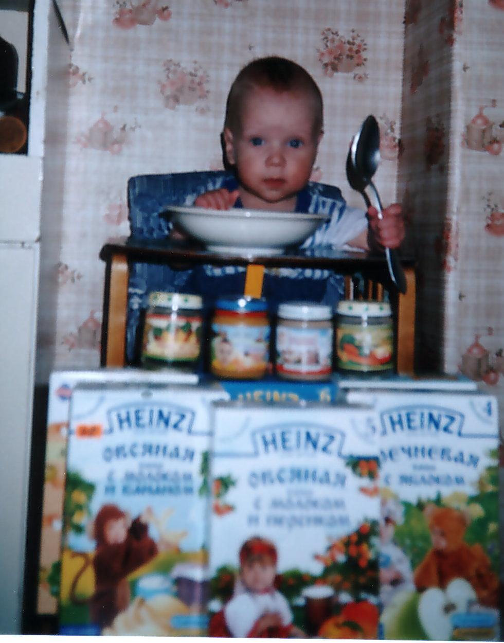 Где моя большая ложка? (7 месяцев). Крошка с ложкой