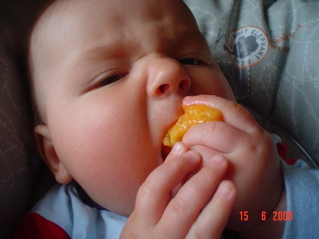 любитель абрикосов:). Крошка с ложкой