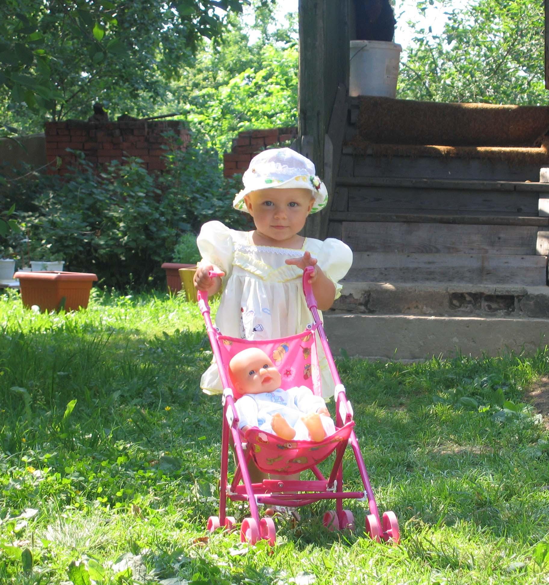 Кукла. Лето, ах лето!..