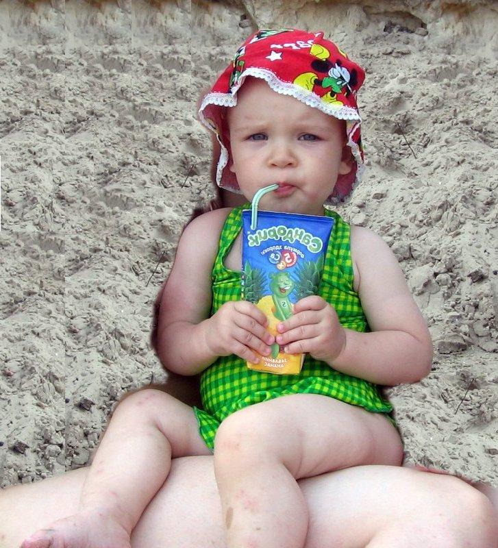 А я на солнышке лежу и сочек себе пью.... Лето, ах лето!..