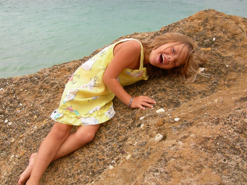 Море, лето, просто счастье..... Почему я веселый такой?