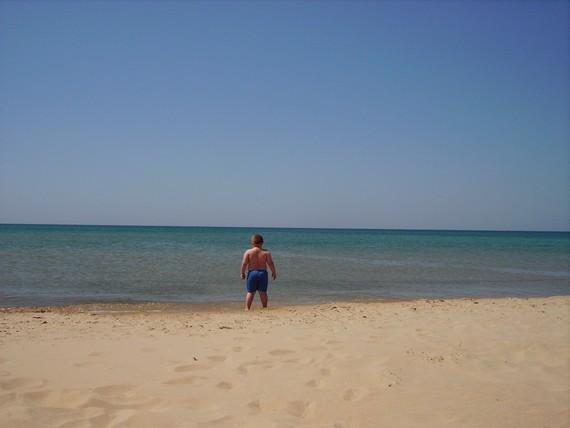 первая встреча с морем. Море, море - мир бездонный
