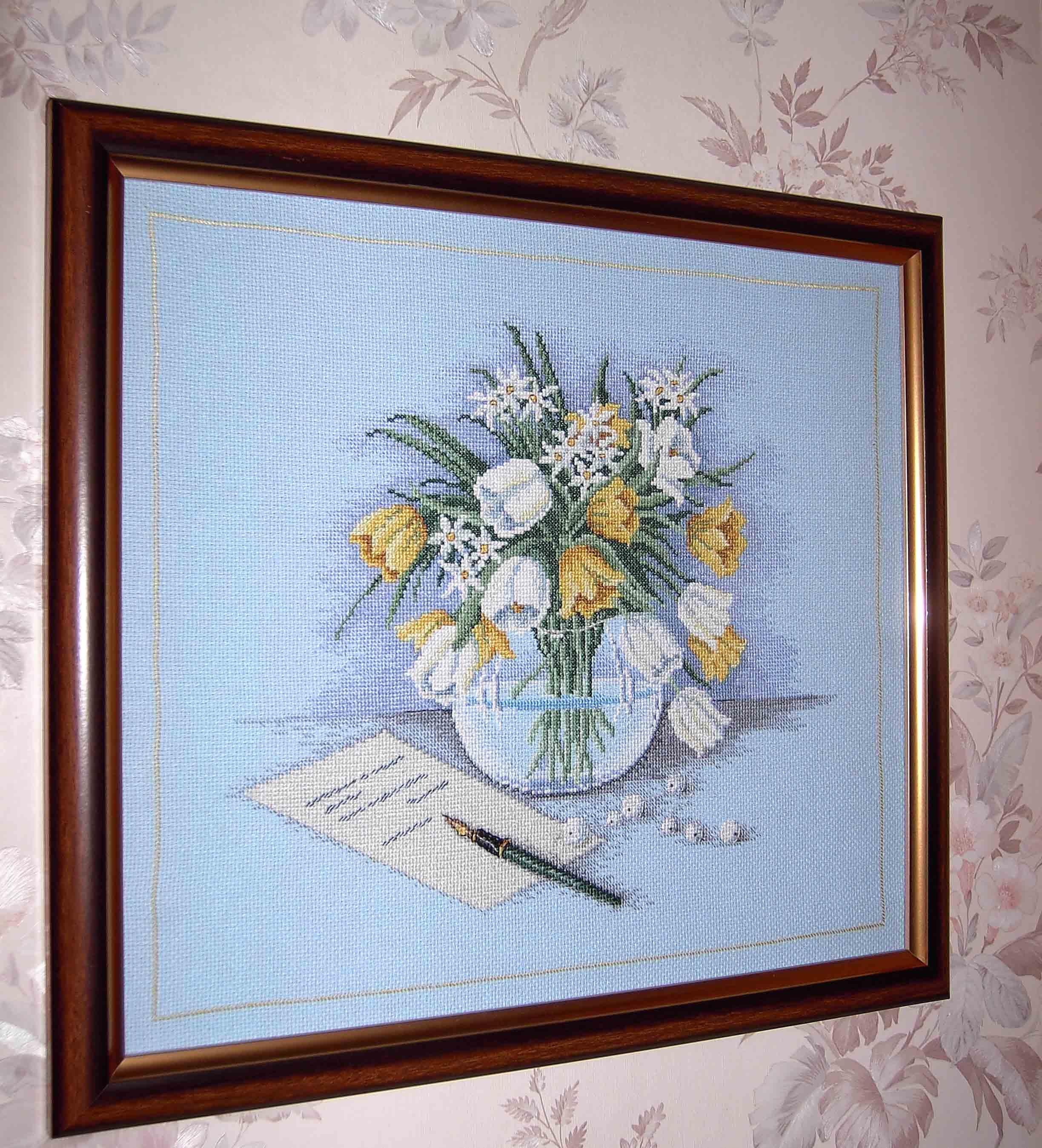 Весенние цветы. Рукодельный конкурс 'Весна идет'