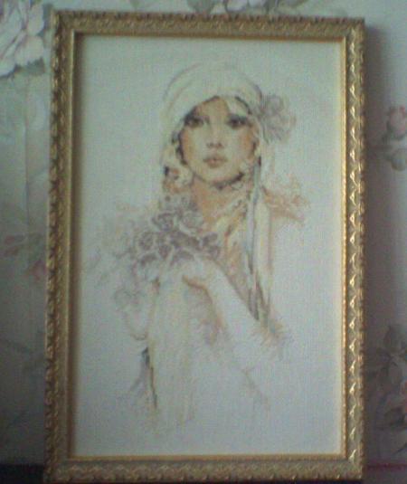 'Невеста' Lanarte. Конкурс вышитых работ Матушка-Весна