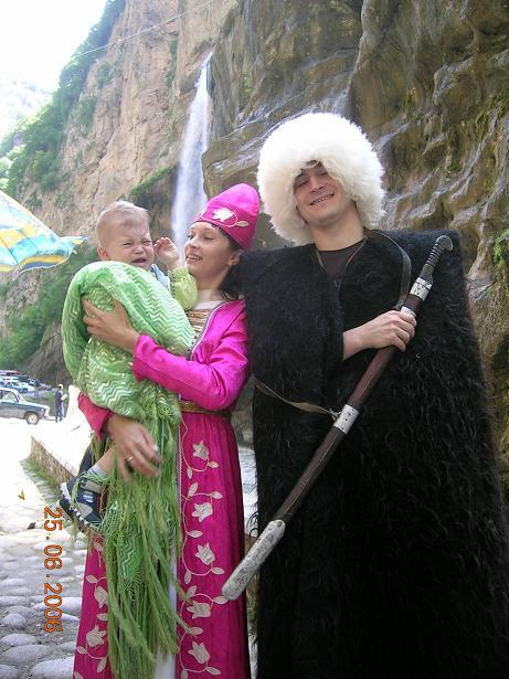 Кавказская семья и секс